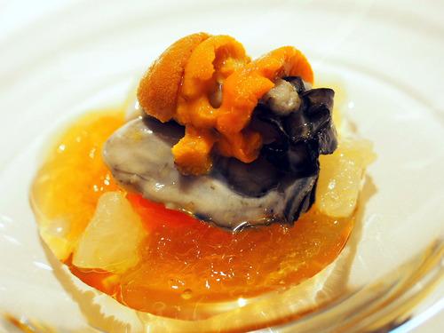 サロマ牡蠣と雲丹