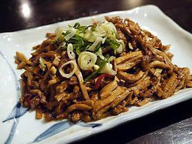 干豆腐肉絲