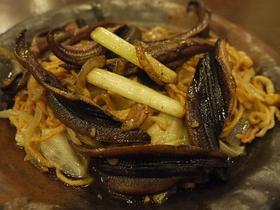 炒鰻魚意麺
