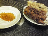 羊肉の串焼き