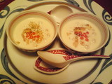 豆乳のホワイトスープ