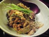 加茂茄子、トマト、随喜、トウモロコシ、隠元の胡麻味噌和え