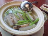 牛スジと大根スープ