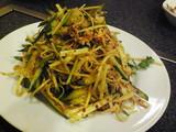 干し豆腐の冷菜
