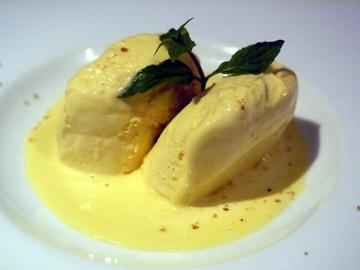 リモンチェロのアイスクリーム