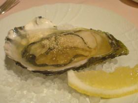 牡蠣のジュレ