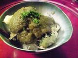 季節野菜の天ぷら 苦瓜のおろし