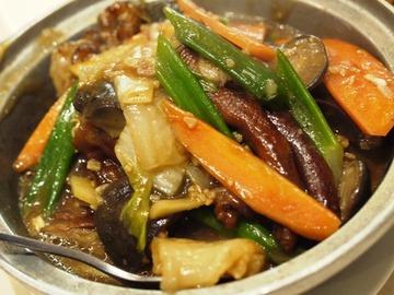 もみじと野菜煮込み