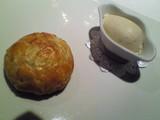 マロングラッセのタルトとグランマニエのアイス