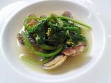 お魚と浅蜊と菜の花