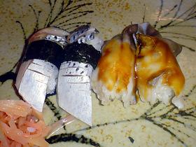 コハダとホッキ貝