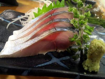 ごま鯖の昆布〆