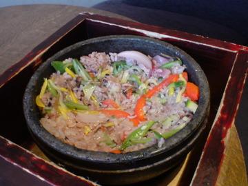 野菜石焼きビビンパ