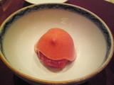 トマトと苺ソース