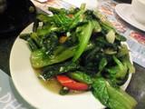 台湾A菜の炒め
