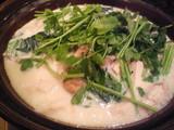 蝦夷鹿の豆乳鍋