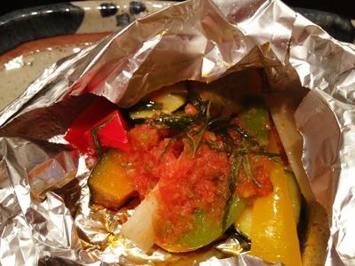 野菜ホイル焼き