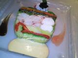 オマール海老と野菜のガトー仕立て