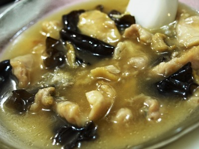 魚の上湯スープ炒め