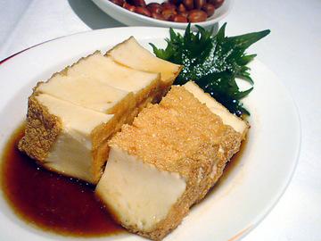 厚揚げ豆腐の特製醤油漬け