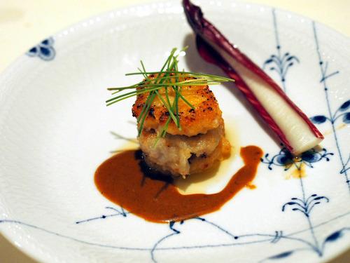 オマール海老のポルペット 石川芋のフリコ添え