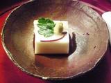 胡麻豆腐 防風と山葵
