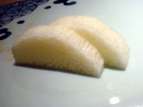 山芋の漬物