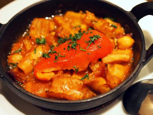 スペイン風モツ煮