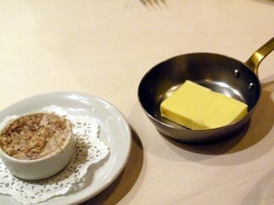 リエットとバター