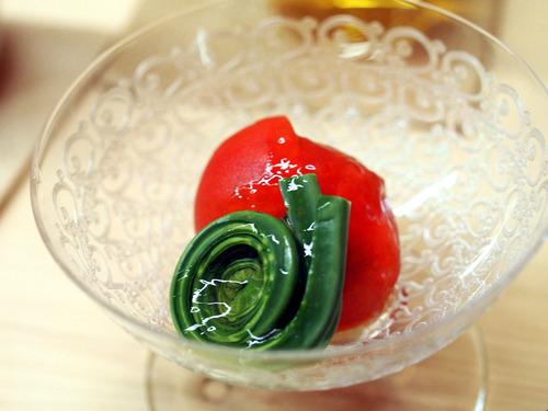 アグネストマトと蕨