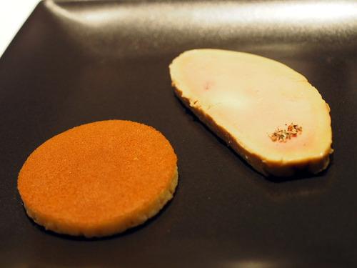 フォアグラのコンフィ 蜂蜜とヴィネガー風味