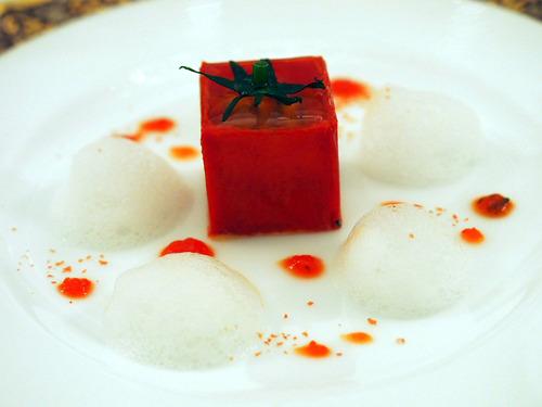 トマトのコンプレッション