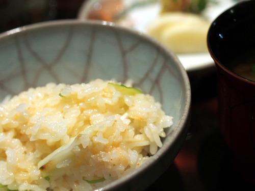 鱈子とうるいご飯