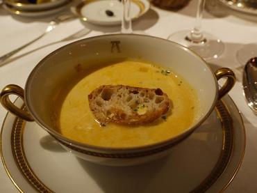 ムール貝のクリームスープ