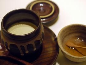 だだ茶豆のクレームブリュレ