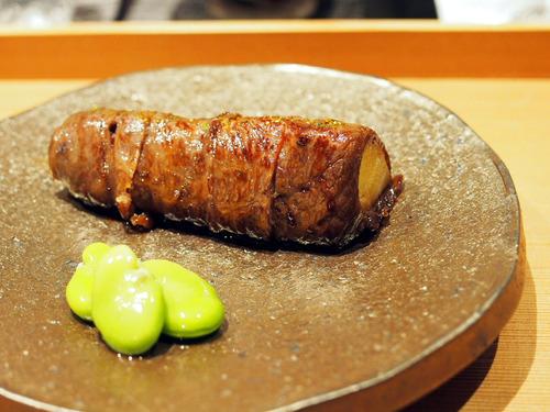 神戸牛の筍巻