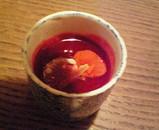 トマトとビーツのスープ