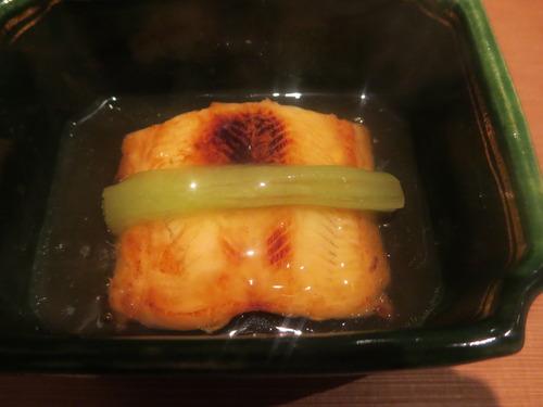 穴子と蓮根餅