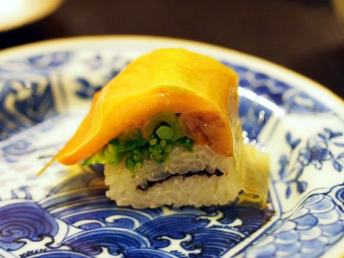 赤貝の押寿司