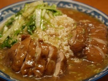 蒸し鶏の旨煮あんかけご飯