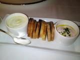 たらこクリームと白トリュフオイルのクリームチーズ