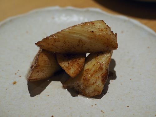 マコモ茸蝦子炒め