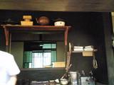 厨房から見える小窓