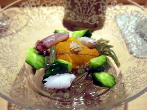 雲丹とじゅん菜