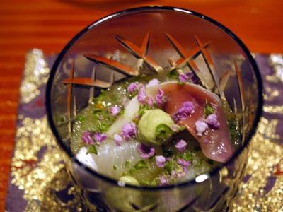 夏野菜の海鮮おろし和え