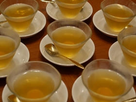 福青山茶ゼリー