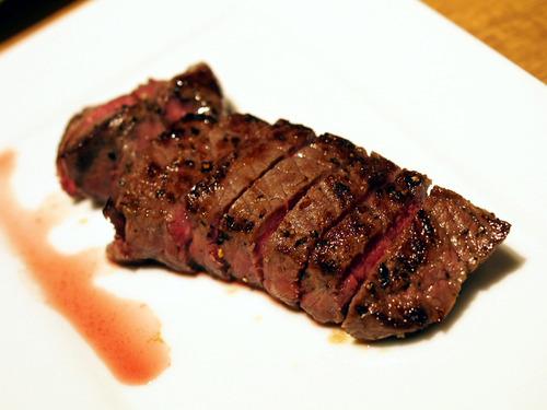 熟成赤身ステーキ