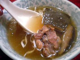 すっぽんの薬膳スープ