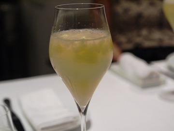 ピーチグラニテ&シャンパン