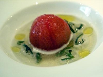 トマトのエキスとじゅん菜